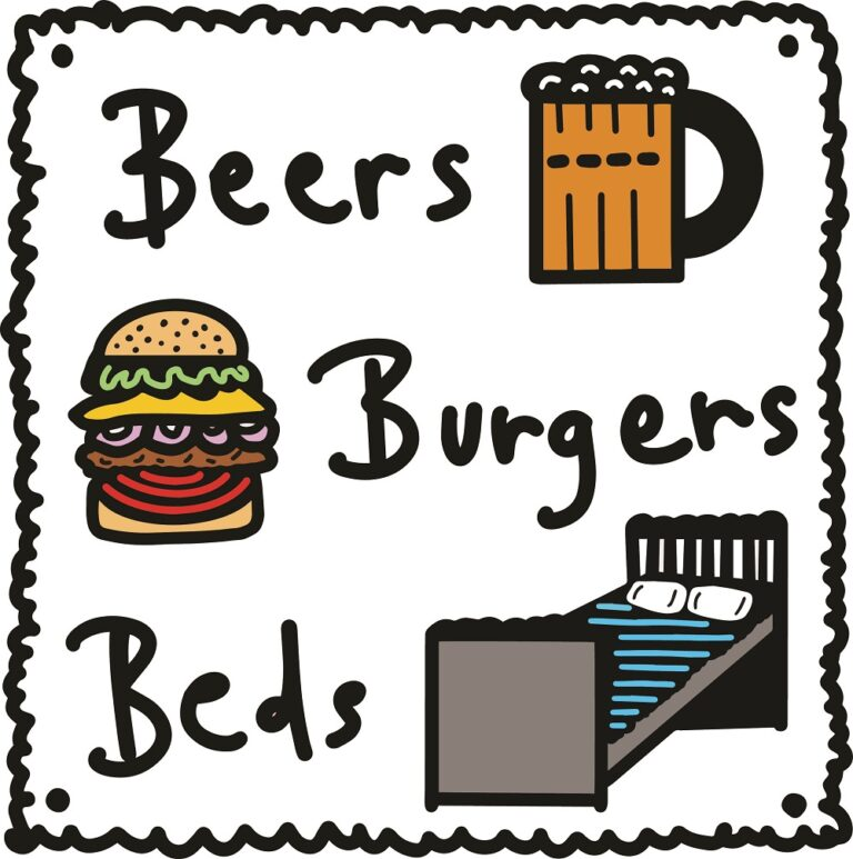 beers burgers beds - the surfside